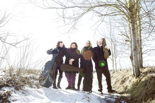 Rantatie-kvartetti 2015. Kuva Ulla Nikula