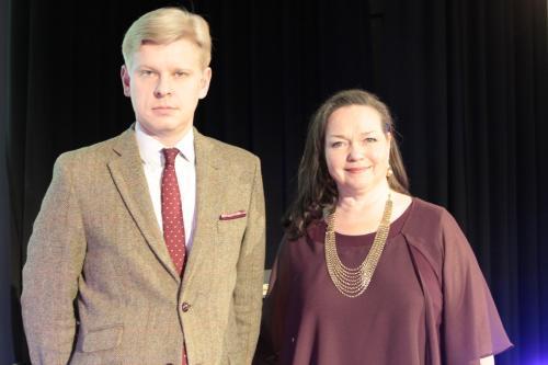 Janne Hovi ja Taina Piira. Kuva Tarja Kärkkäinen