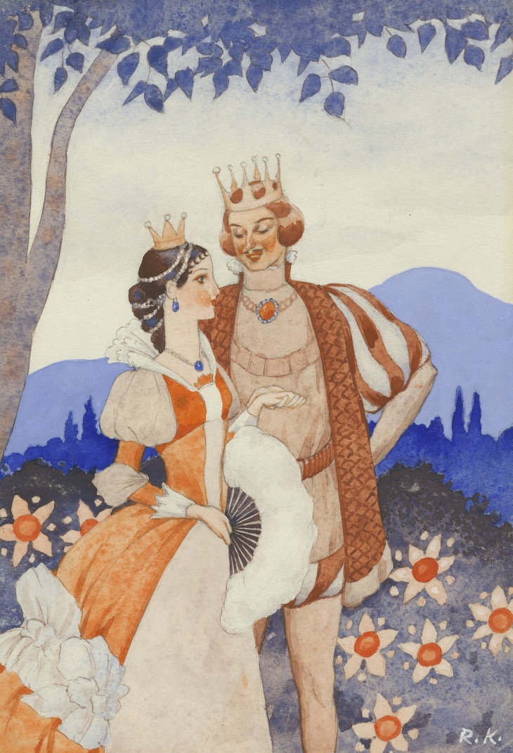 Prinsessan puku_Rudolf Koivu