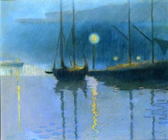 Martta Wendelin, Öinen satama 1917